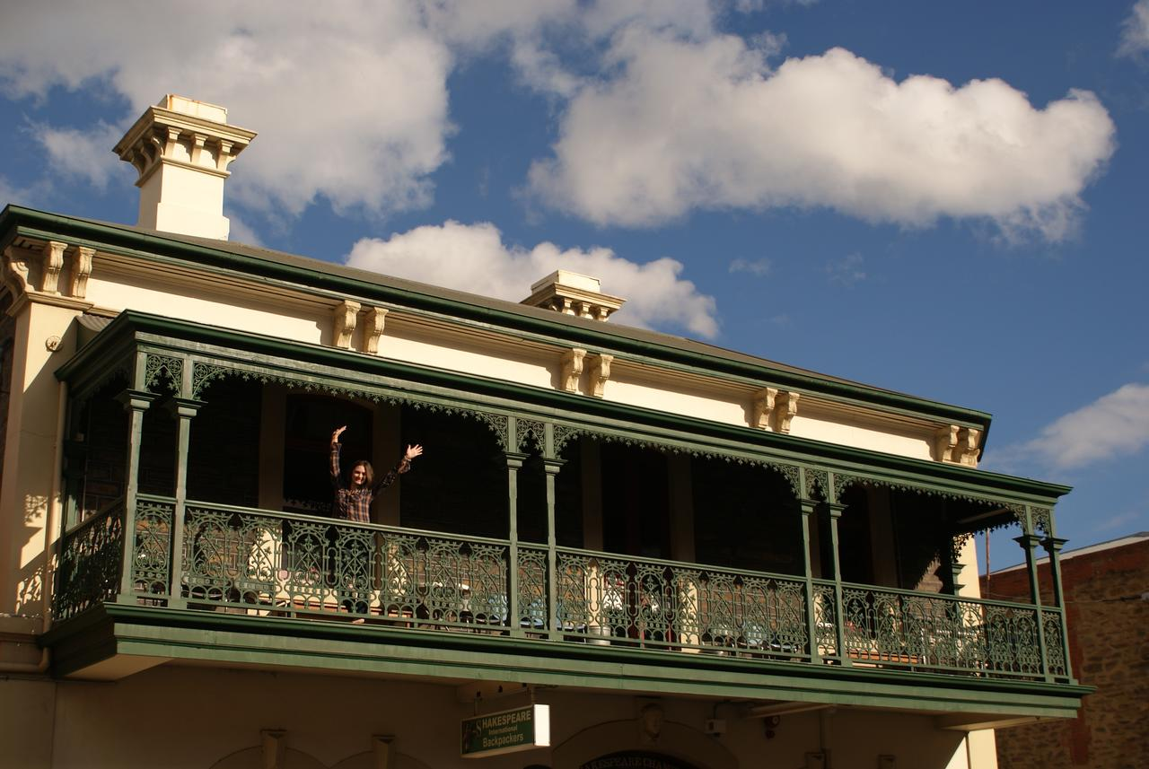 Adelaide's Shakespeare Backpackers International Hostel